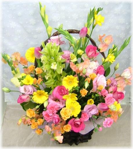 お祝いに贈るお花